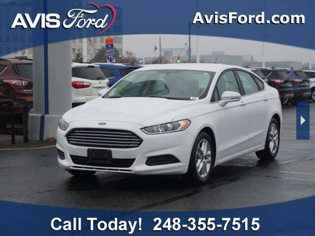 2015 Ford Fusion for sale at Work With Me Dave in Southfield MI