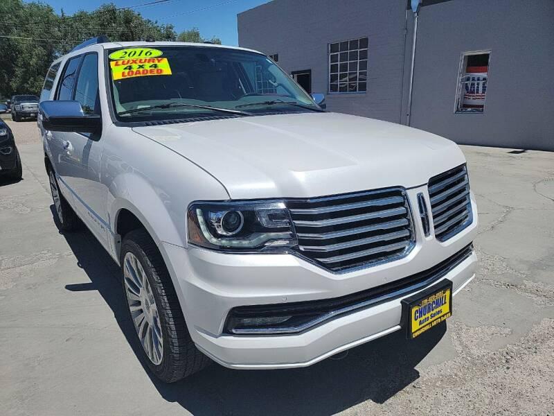 2016 Lincoln Navigator for sale at CHURCHILL AUTO SALES in Fallon NV