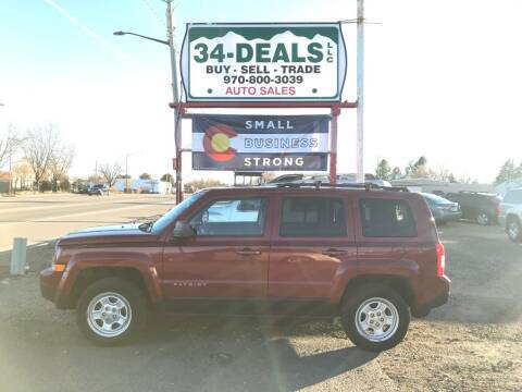 2012 Jeep Patriot for sale at 34 Deals LLC in Loveland CO