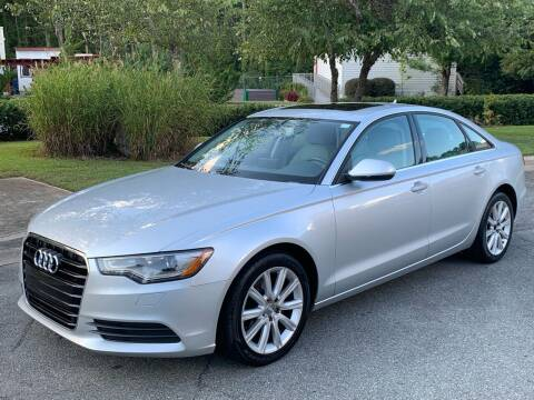 2013 Audi A6 for sale at Triangle Motors Inc in Raleigh NC