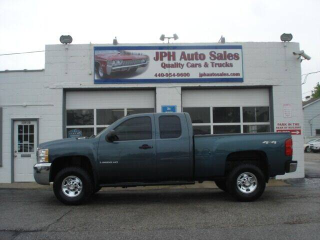 2009 Chevrolet Silverado 2500HD for sale at JPH Auto Sales in Eastlake OH