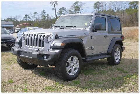 2020 Jeep Wrangler for sale at STRICKLAND AUTO GROUP INC in Ahoskie NC