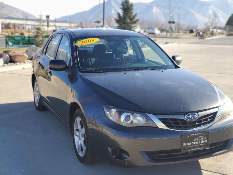 2009 Subaru Impreza for sale at FRESH TREAD AUTO LLC in Springville UT