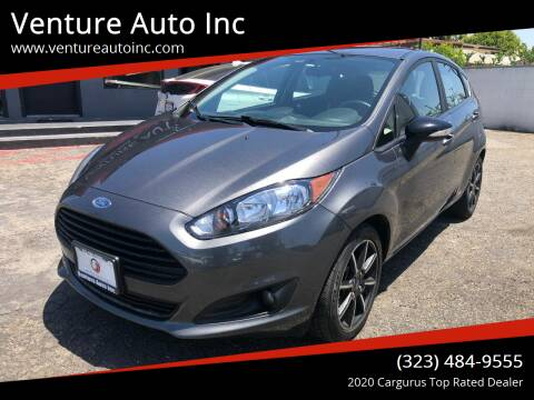 2016 Ford Fiesta for sale at Venture Auto Inc in South Gate CA