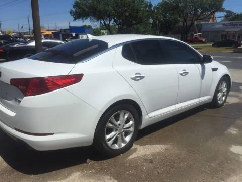 2013 Kia Optima for sale at Texas Luxury Auto in Houston TX