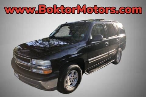 2004 Chevrolet Tahoe for sale at Boktor Motors in North Hollywood CA