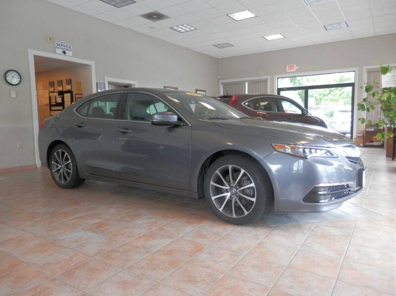 2017 Acura TLX for sale at ABSOLUTE AUTO CENTER in Berlin CT