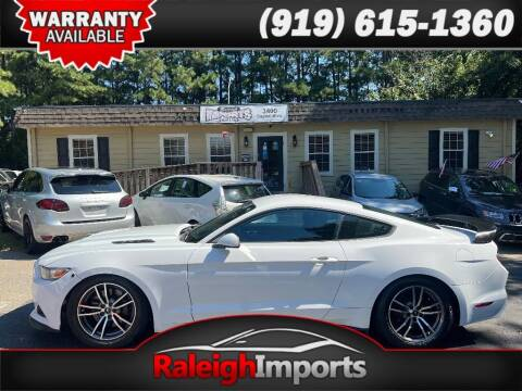 2015 Ford Mustang for sale at Raleigh Imports in Raleigh NC