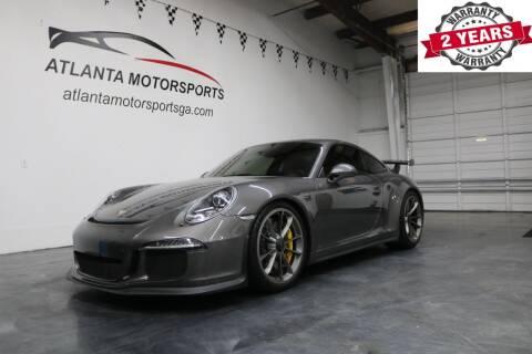 2014 Porsche 911 for sale at Atlanta Motorsports in Roswell GA