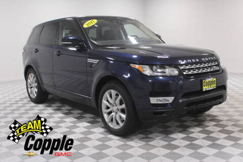 2017 Land Rover Range Rover Sport for sale at Copple Chevrolet GMC Inc in Louisville NE