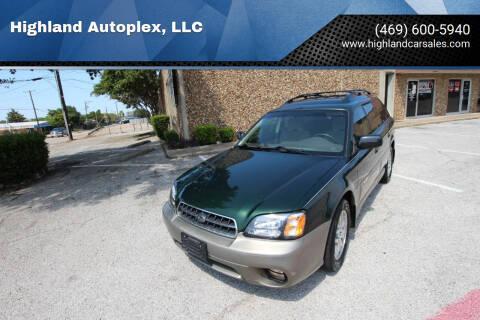 2003 Subaru Outback for sale at Highland Autoplex, LLC in Dallas TX