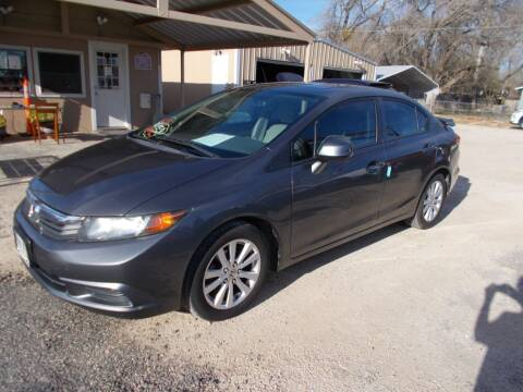 2012 Honda Civic for sale at DISCOUNT AUTOS in Cibolo TX