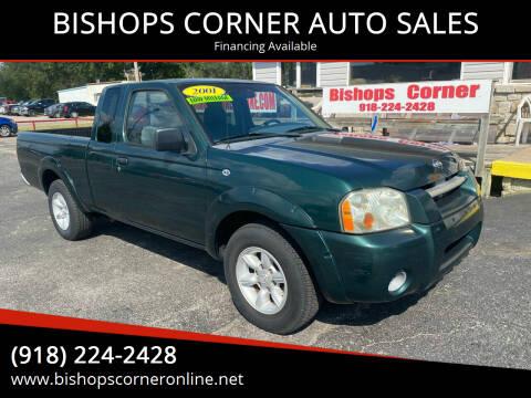 2001 Nissan Frontier for sale at BISHOPS CORNER AUTO SALES in Sapulpa OK