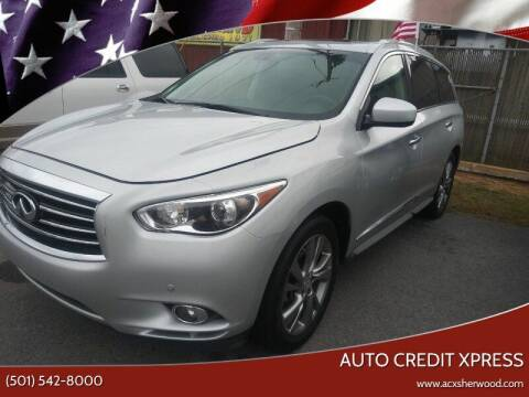 2013 Infiniti JX35 for sale at Auto Credit Xpress - Sherwood in Sherwood AR
