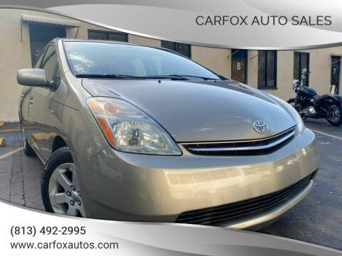 2009 Toyota Prius for sale at Carfox Auto Sales in Tampa FL