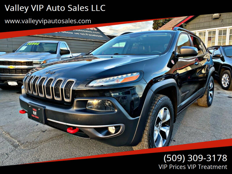 2014 Jeep Cherokee for sale at Valley VIP Auto Sales LLC in Spokane Valley WA