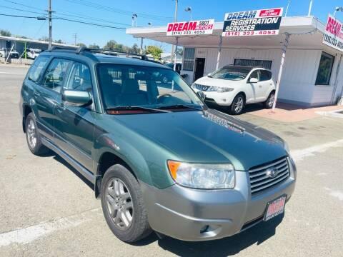 2007 Subaru Forester for sale at Dream Motors in Sacramento CA