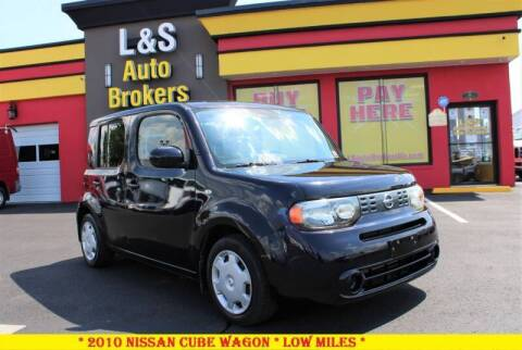 2010 Nissan cube for sale at L & S AUTO BROKERS in Fredericksburg VA