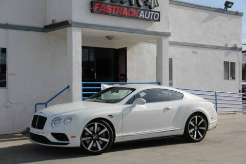 2016 Bentley Continental for sale at Fastrack Auto Inc in Rosemead CA