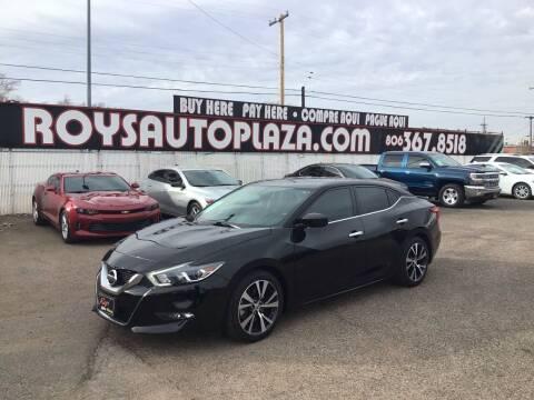 2017 Nissan Maxima for sale at Roy's Auto Plaza 2 in Amarillo TX