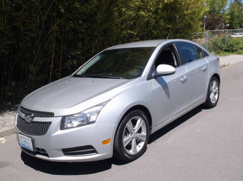 2013 Chevrolet Cruze for sale at Eastside Motor Company in Kirkland WA