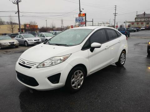 2012 Ford Fiesta for sale at 25TH STREET AUTO SALES in Easton PA