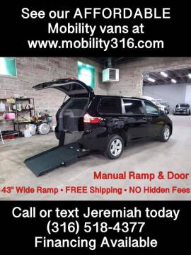 2017 Toyota Sienna for sale at Affordable Mobility Solutions, LLC - Mobility/Wheelchair Accessible Inventory-Wichita in Wichita KS