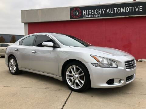 2011 Nissan Maxima for sale at Hirschy Automotive in Fort Wayne IN