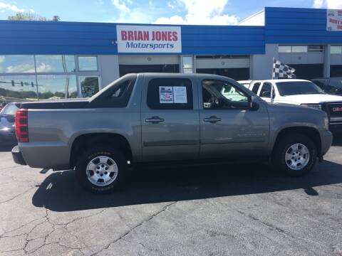 2007 Chevrolet Avalanche for sale at Brian Jones Motorsports Inc in Danville VA