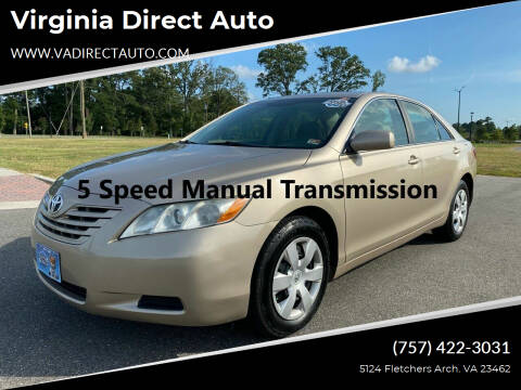 2008 Toyota Camry for sale at Virginia Direct Auto in Virginia Beach VA