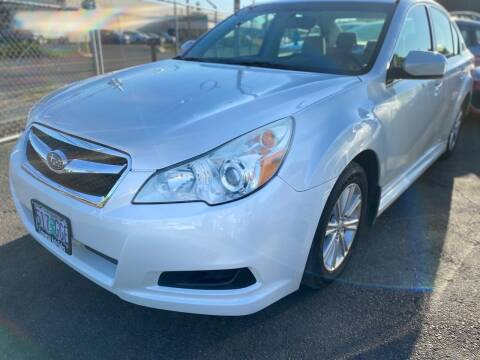 2011 Subaru Legacy for sale at Universal Auto INC in Salem OR