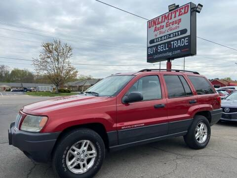 2004 Jeep Grand Cherokee for sale at Unlimited Auto Group in West Chester OH