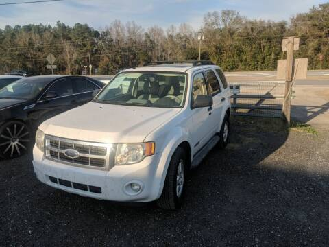 2008 Ford Escape for sale at Ebert Auto Sales in Valdosta GA