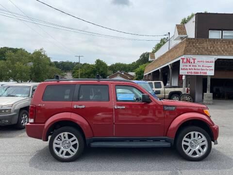 2011 Dodge Nitro for sale at TNT Auto Sales in Bangor PA