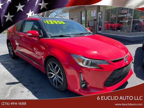 2016 Scion tC for sale at 6 Euclid Auto LLC in Bristol VA