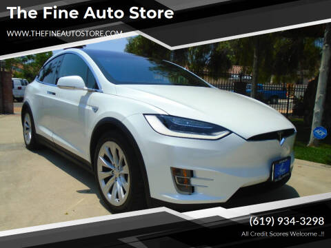 2016 Tesla Model X for sale at The Fine Auto Store in Imperial Beach CA