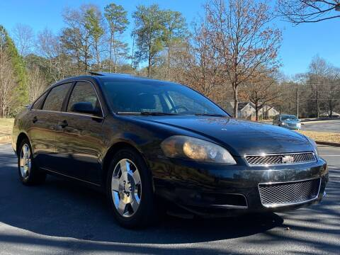 2008 Chevrolet Impala for sale at Top Notch Luxury Motors in Decatur GA