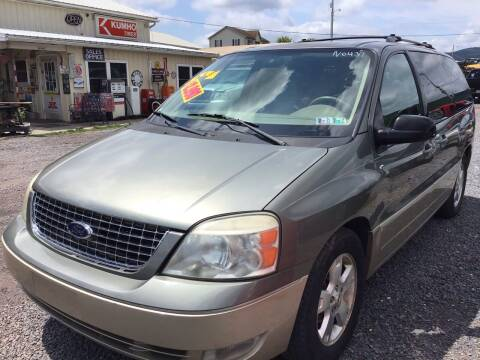 2005 Ford Freestar for sale at Troys Auto Sales in Dornsife PA