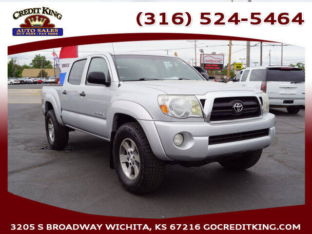 2008 Toyota Tacoma for sale at Credit King Auto Sales in Wichita KS