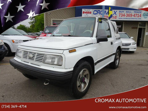 1993 GEO Tracker for sale at Cromax Automotive in Ann Arbor MI