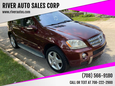 2008 Mercedes-Benz M-Class for sale at RIVER AUTO SALES CORP in Maywood IL