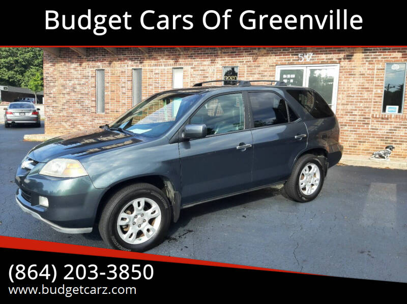2005 Acura MDX for sale at Budget Cars Of Greenville in Greenville SC