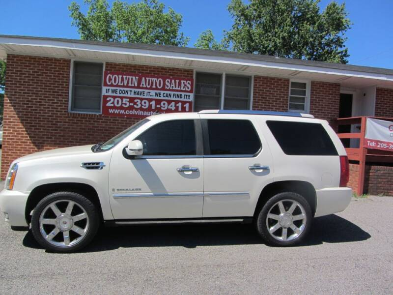 2008 Cadillac Escalade for sale at Colvin Auto Sales in Tuscaloosa AL