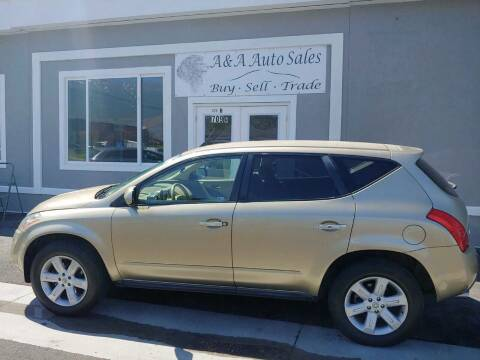 2006 Nissan Murano for sale at A&A Auto Sales in Orem UT