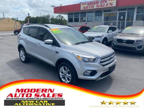 2018 Ford Escape for sale at Modern Auto Sales in Hollywood FL