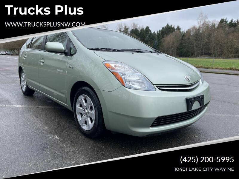 2008 Toyota Prius for sale at Trucks Plus in Seattle WA