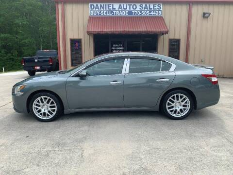 2011 Nissan Maxima for sale at Daniel Used Auto Sales in Dallas GA