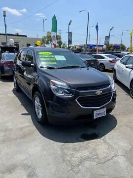 2016 Chevrolet Equinox for sale at LA PLAYITA AUTO SALES INC - 3271 E. Firestone Blvd Lot in South Gate CA