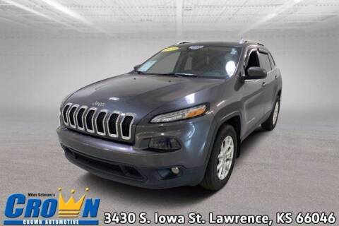 2014 Jeep Cherokee for sale at Crown Automotive of Lawrence Kansas in Lawrence KS