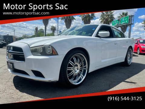 2011 Dodge Charger for sale at Motor Sports Sac in Sacramento CA